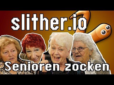 slither.io - Senioren zocken!!! (Deutschlands älteste Gamer)