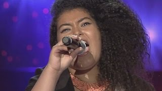 ساره عكرود  - Who is loving you- - مرحلة الصوت وبس - MBCTheVoice