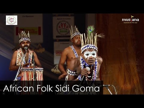 African Folk Dance | Sidi Goma | Sidi Dhamal Folk Dance Group Gujarat