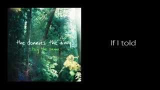 The Donnies The Amys - Drive you home (Lyrics)