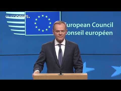 Donald Tusk comments on Brexit deal