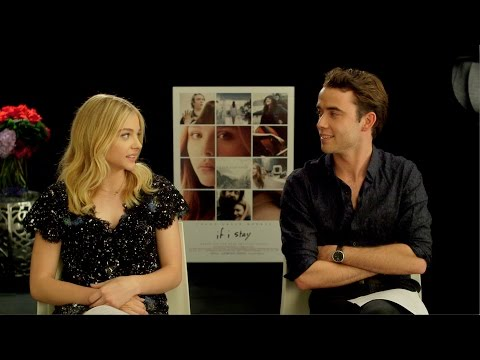 Questions with Chloë Grace Moretz and Jamie Blackley  The If I Stay Stars' Hidden Talents