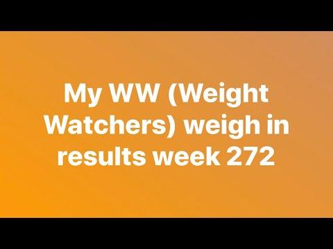 WW (Weight Watchers) Weigh In. Unexpected Gain, Using My Weeklies And How I Deal With A Day Off