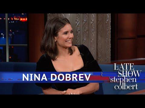 Nina Dobrev Asks Stephen For 'Tequila Please'