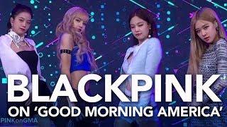BlackPink performs 'Ddu-du Ddu-du' on 'Good Morning America'