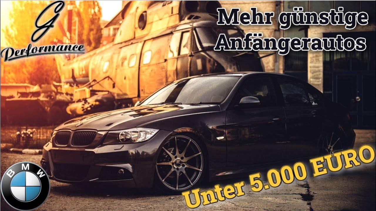 Günstige Anfänger Autos für unter 5.000 €, die irgendwen feucht machen | G Performance