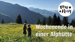 VLOG Familien Wochenende auf der Alphütte in Graubünden 🏔