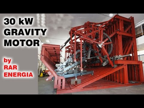Free Energy Generator, 30 kW Gravity Motor, MUST SEE!!!