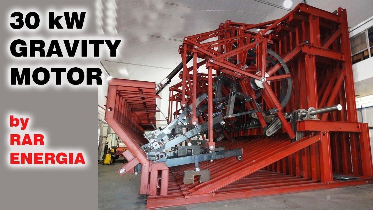 Free Energy Generator 30 Kw Gravity Motor Must See Youtube
