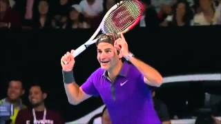 Роджер Федерер!  Что ты делаешь - ахаха - прекрати!!!