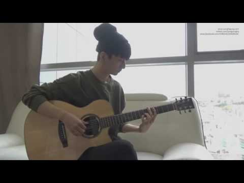 Cover guitar Blood Sweat & Tears (Sungha Jung)