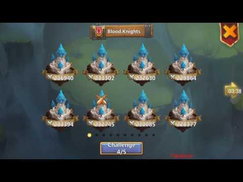 Castle Clash - Top 5 CC Guilds Battling In GW! Hardest GW Possible!
