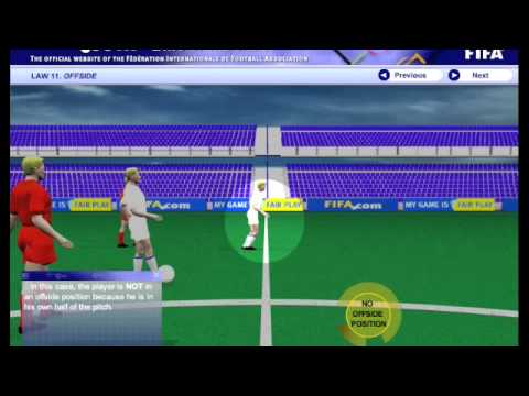 FIFA Explains Offside 1