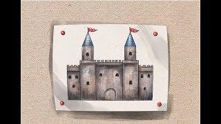 Si të vizatojmë një Kështjellë - How to Draw a Castle