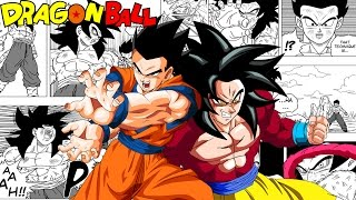 Dragon Ball EX Chapters 5 & 6: Ultimate Gohan Vs Evil SSJ4 Goku! The Prophecy (Fan Manga Review)