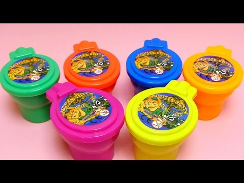 6 Noise Putty Slime Toilets with Surprise Toys