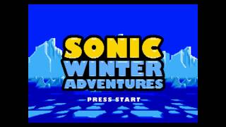 Sonic Winter Adventures Music - The Frozen Island Act 1