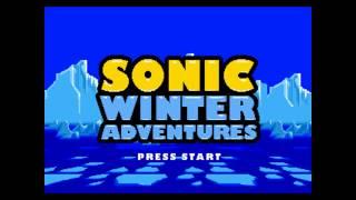 Sonic Winter Adventures Music - The Frozen Island Act 1