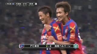 河野 広貴(FC東京)がワンツーからの美しいミドルシュートで相手を引き...