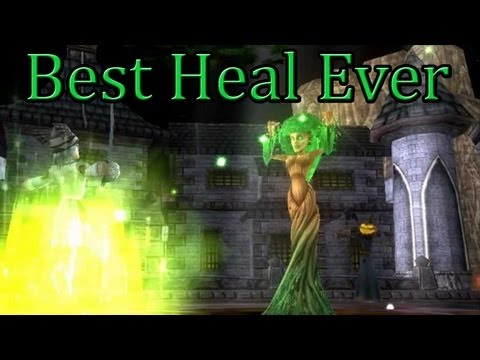 Wizard101: Best Heal Ever *OLD* - BlazeLifehammer