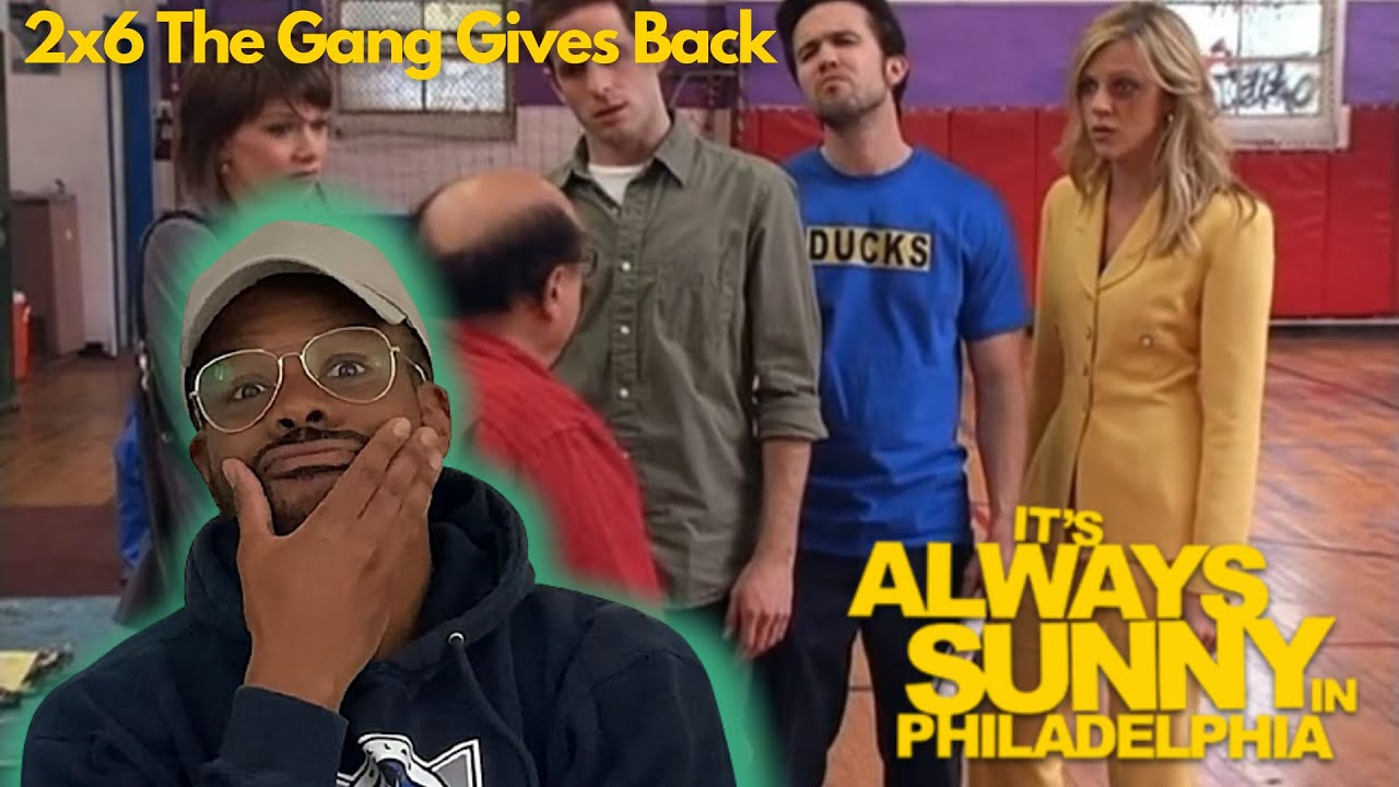 Download IT'S ALWAYS SUNNY IN PHILADELPHIA REACTION 2x6 The Gang Gives Back