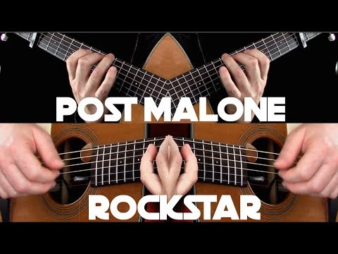 Post Malone - rockstar ft. 21 Savage - Fingerstyle Guitar