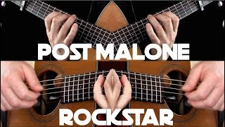 Baixar Post Malone - rockstar ft. 21 Savage - Fingerstyle Guitar