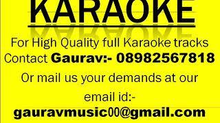 Mann Ki Veena Se Swagatam Without End Sargam Vocals Proper   Karaoke Track By Gaurav