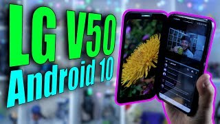 LG V50 on Android 10: New OS, New UX, AND A DESKTOP MODE!