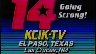 7/19/1987 KCIK Channel 14 Long Promo Fox and WKRP promo