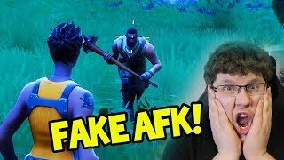 Er war FAKE AFK! | Fortnite Battle Royale