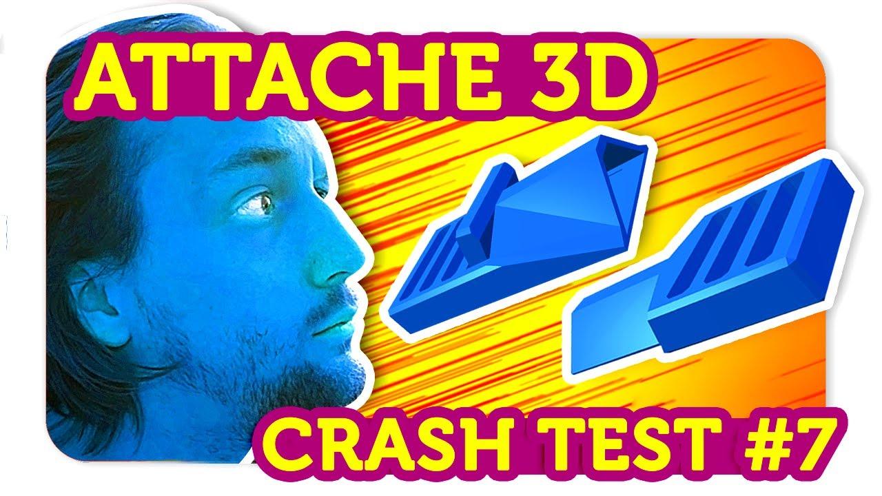 une boucle d'attache 3d ?!? crash test impression 3d - youtube