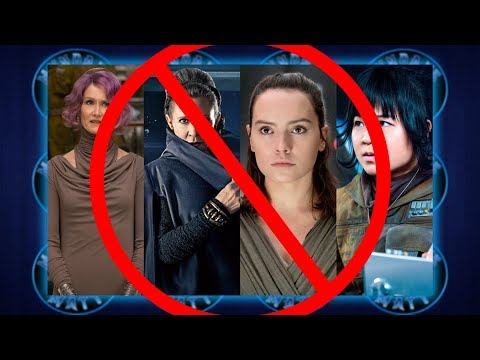 SJWs lose their mind over THE LAST JEDI: THE DE-FEMINIZED FANEDIT