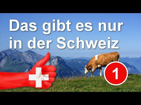 10 Dinge, die es nur in der Schweiz gibt - Folge 1