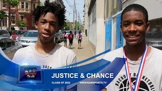 "JUSTICE WILLIAMS & CHANCE WESTRY ""INTERVIEW"" c/o 2022 Stars"