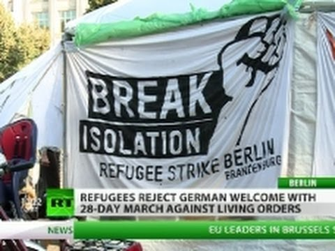 Exodus to Nowhere? Refugees 'treated like criminals' in Germany