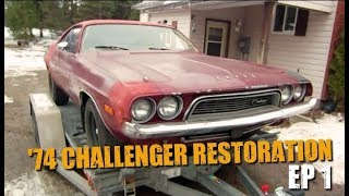 74 Dodge Challenger Restoration #1- Welcome to the Family!