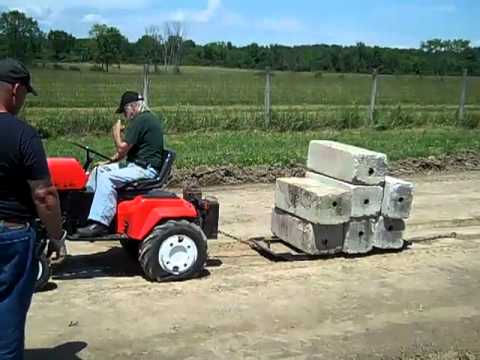 Art Boucher Ariens garden tractor YouTube