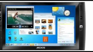 ARCHOS 9 Tablet 60GB, Windows 7
