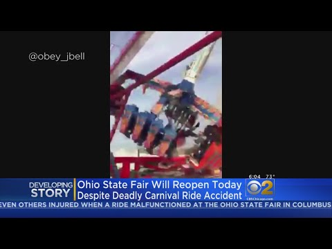 1 Killed, 7 Injured When Carnival Ride At Ohio State Fair Breaks Apart