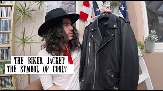 THE BIKER JACKET THE SYMBOL OF COOL