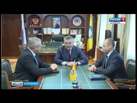 Главе республики представлен начальник Пограничного управления ФСБ России