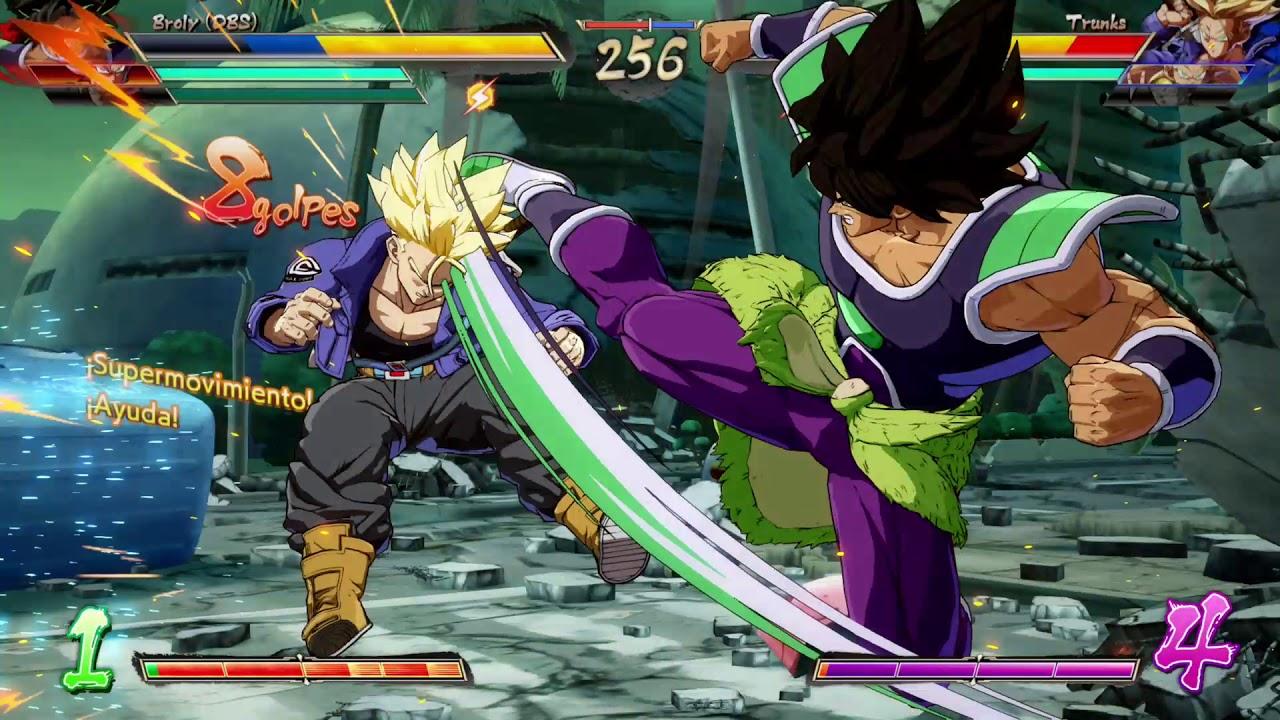 Mi primera vez jugando con Broly | DBZ Fighters | Xbox One