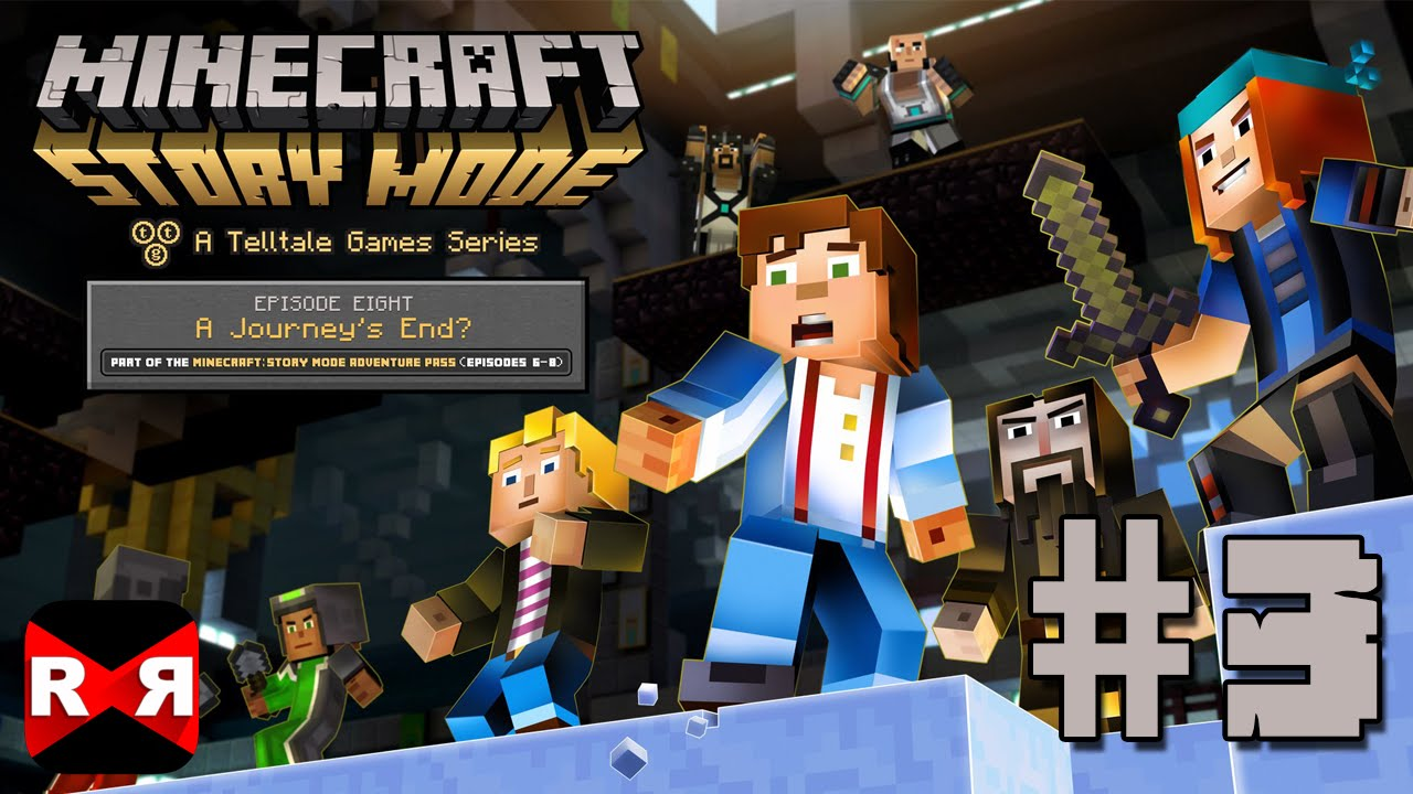 Download Minecraft: Story Mode Ep. 8: A Journey's End - iOS / Android - Walkthrough Gameplay Part 3