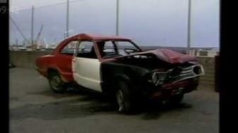 Uutiset Auto mereen Kotka 1987