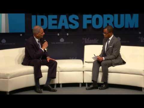 Eric Holder / Washington Ideas Forum 2014