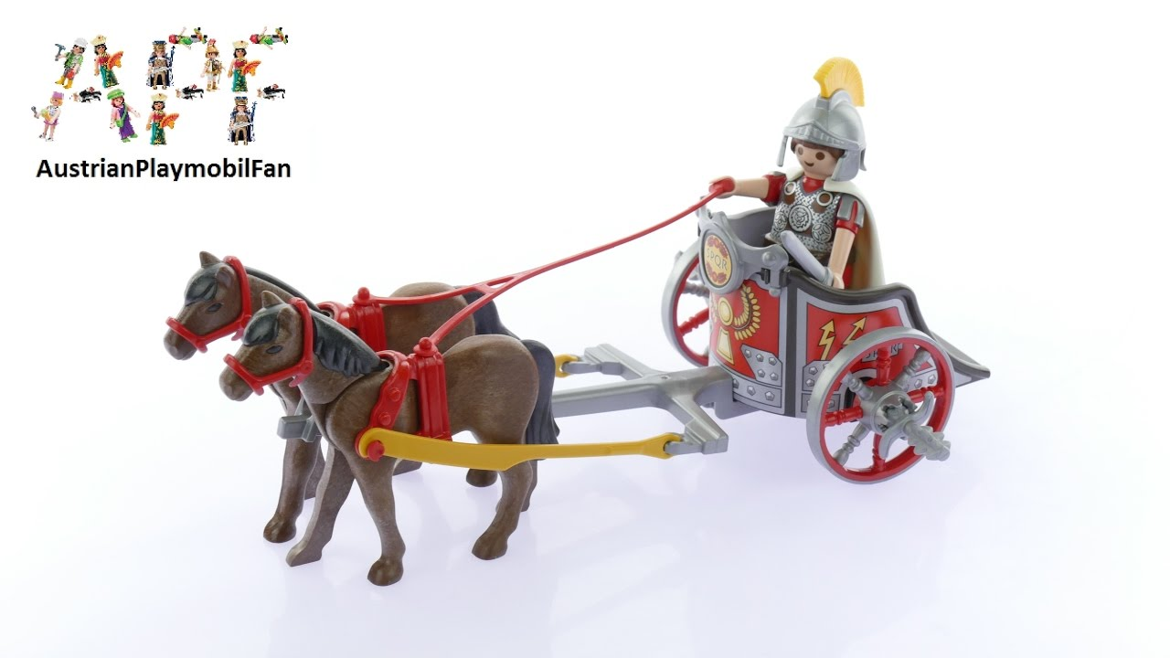 playmobil history 5391 römer streitwagen  playmobil build