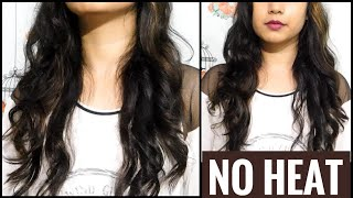 How To Curl Your Hair Without Heat  Easy Heatless Curls At Home   TipsToTop By Shalini
