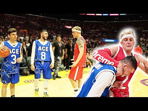Jake Paul CALLS ME OUT at the ACE FAMILY GAME!!