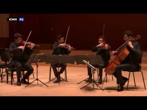 Haydn quartet opus 76 n°1 - Quatuor Arod - Carl Nielsen competition live recording